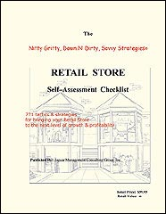 Retail store self assessment checklist